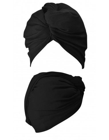 Gorro - Turbante Wrap It Up Negro de Anwen