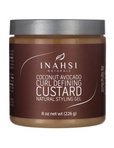 Inahsi Naturals Gel Definidor Coconut Avocado Curl Defining Custard 226g