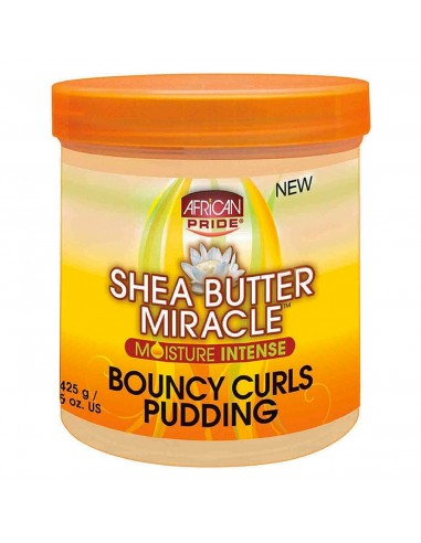 Definidor Pudding African Pride Shea Butter Miracle Bouncy Curls 425g