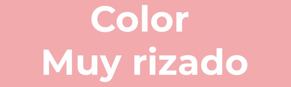 Color muy rizado