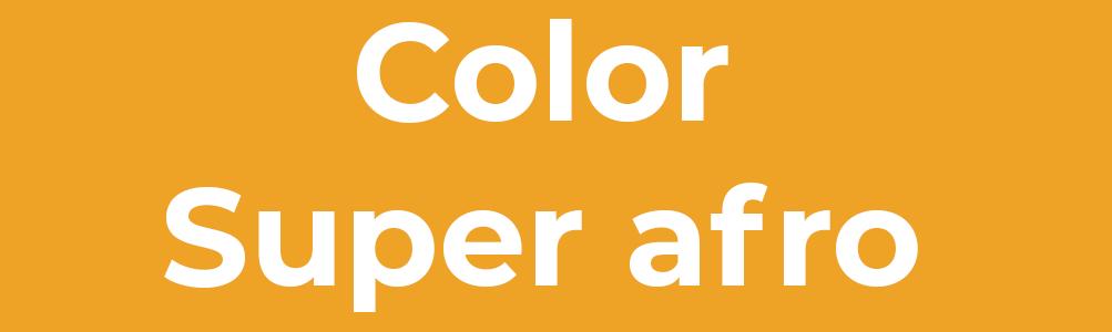 Color super afro