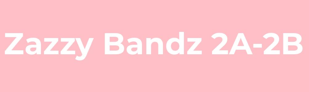 Zazzy bandz 2A-2B