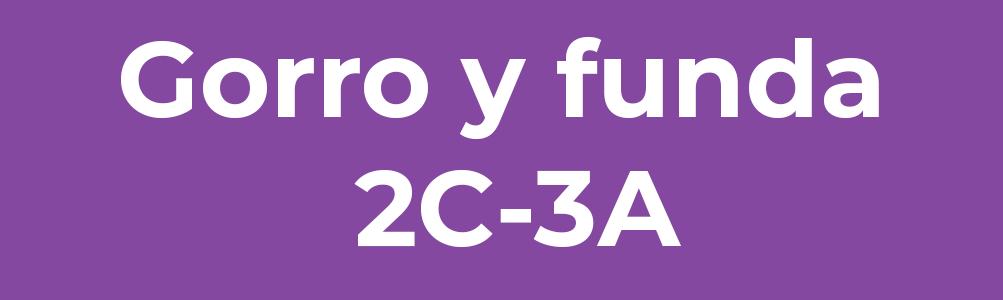 Gorro y funda 2C-3A