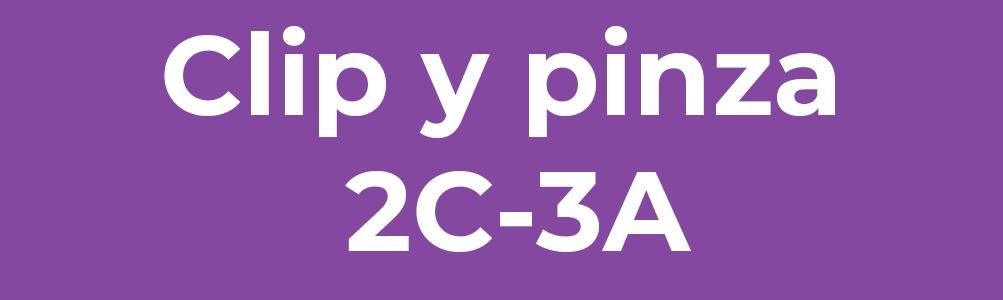 Clip y pinza 2C-3A