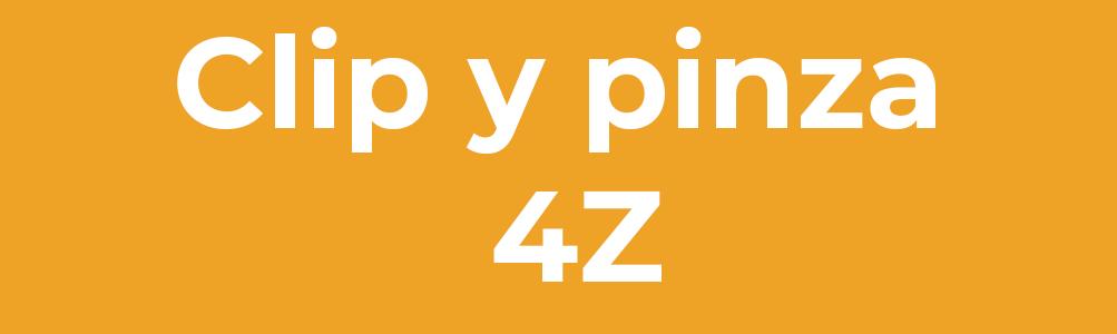Clip y pinza 4Z