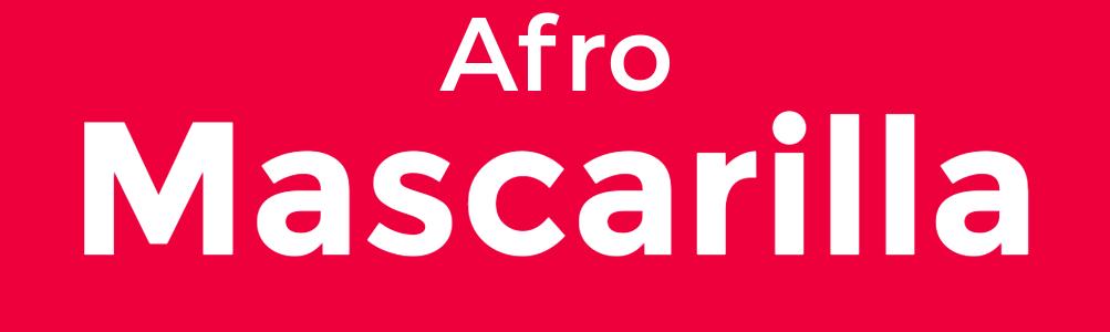 Mascarilla Afro