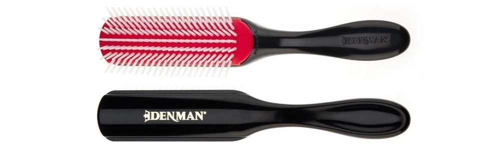 Cepillo Denman, tangle teezer de púas suaves y redondeadas para no dañar el cabello al peinarlo.